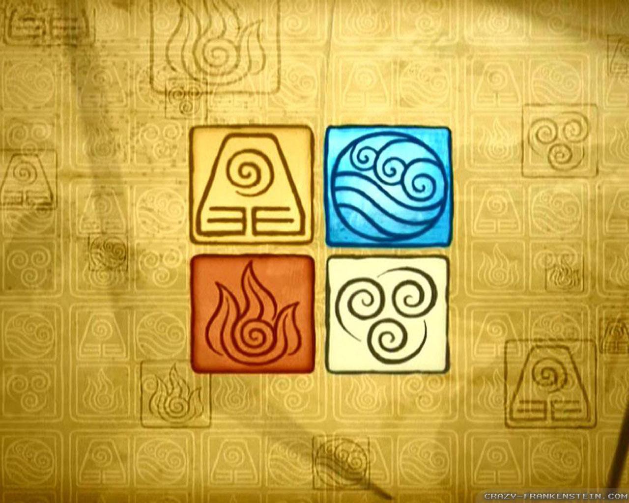 Avatar The Last Airbender Wallpaper Elements Avatar Element