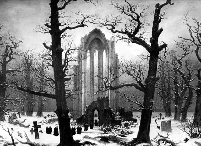 friedrich_cloister_cemetery_1817_1819